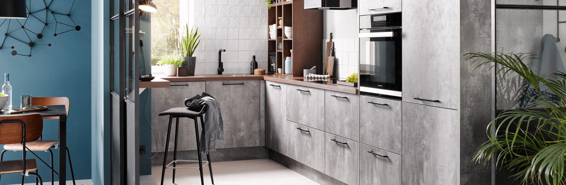 Keuken in betonlook | Keukentrends 2020 | Satink Keukens