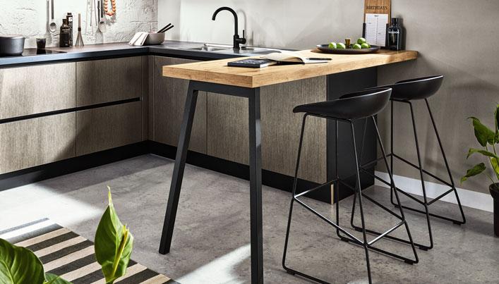 Keuken met betonnen vloer | Keukentrends 2020 | Satink Keukens