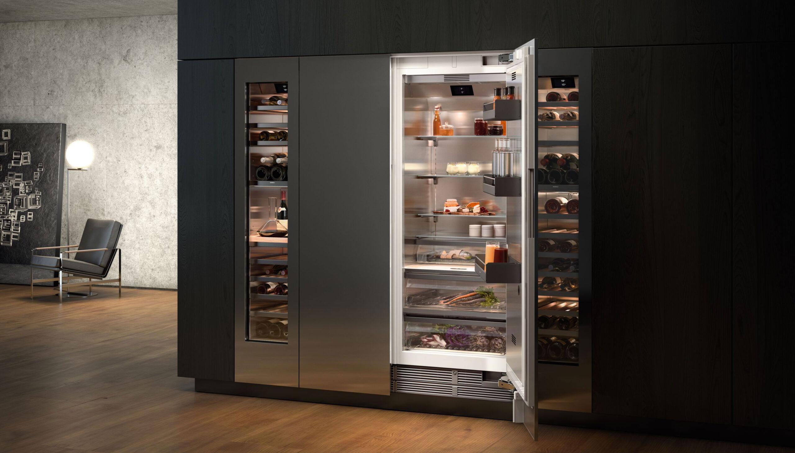 Luxe Gaggenau koelkast | Satink Keukens