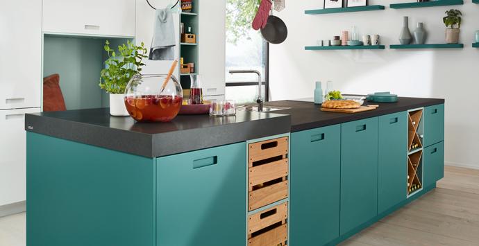 Matte keuken in kleur | Satink Keukens & Badkamers
