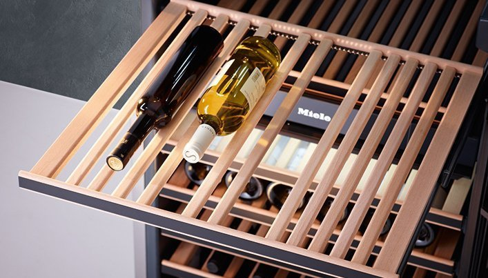 Wijnklimaatkast van Miele | Satink Keukens