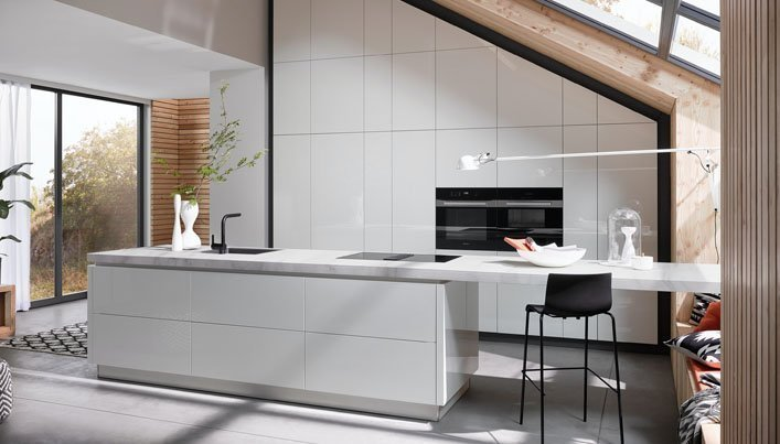 Minimalistische keuken   Satink Keukens